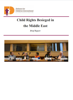 Child Rights Besieged in the Middle East