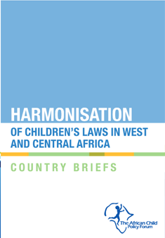 Harmonisation of Children's Laws in West and Central Africa